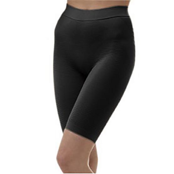 Swans กางเกงสั้นกระชับสัดส่วน-ดำ L/XL