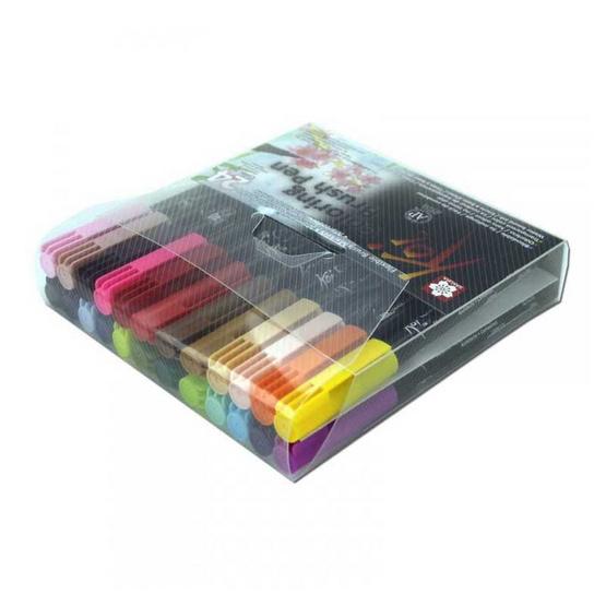 SAKURA ชุดปากกาพู่กัน Koi Coloring Brush Pen 24 ด้าม