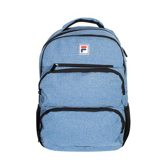 FILA Issac กระเป๋าเป้สะพายหลังผู้ใหญ่ สีฟ้า