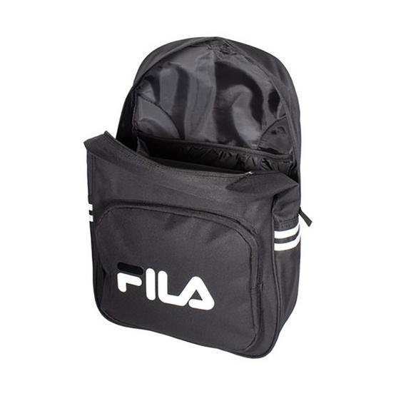 FILA LS640145 กระเป๋าเป้สะพายหลังผู้ใหญ่ สีดำ