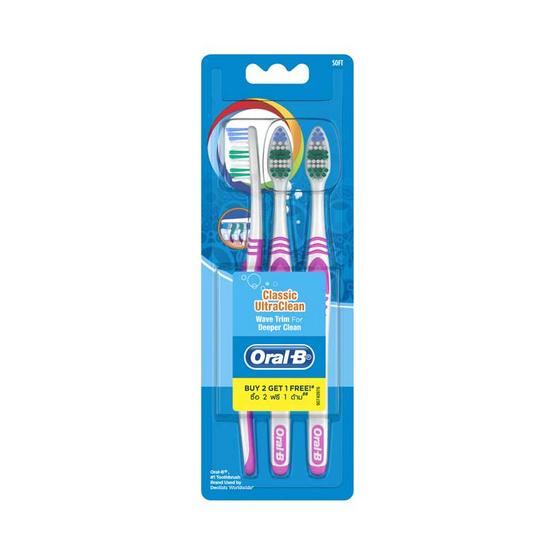 ออรัลบี แปรงสีฟัน คลาสสิก อัลตร้า คลีนนุ่ม40
