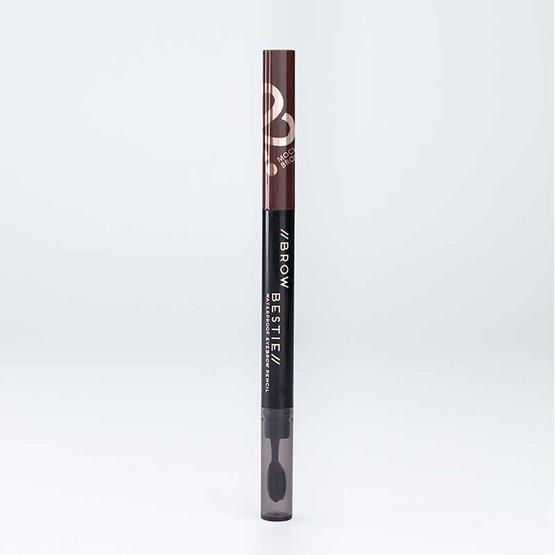 FIIT Cosmetics ดินสอเขียนคิ้ว Brow Bestie Waterproof eyebrow pencil #02 Mocha Brown