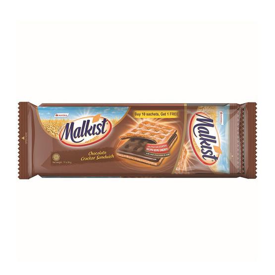 มอลคิสท์ แครกเกอร์สอดไส้ช็อกโกแลต 264 กรัม