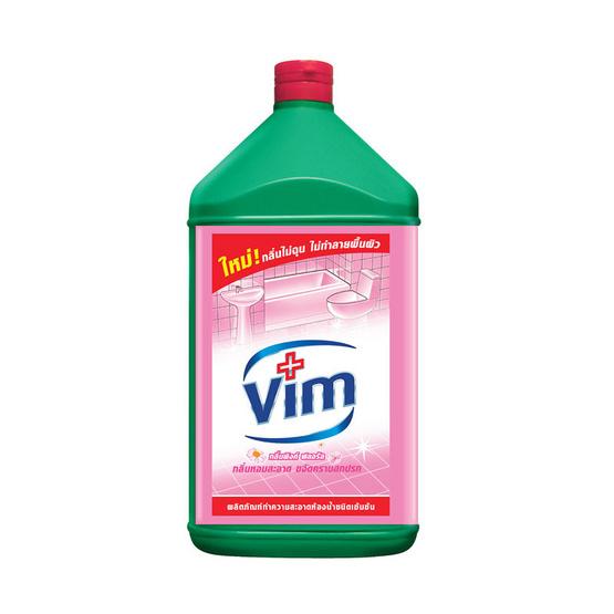 วิม สีชมพู น้ำยาล้างห้องน้ำ 3500 มล.