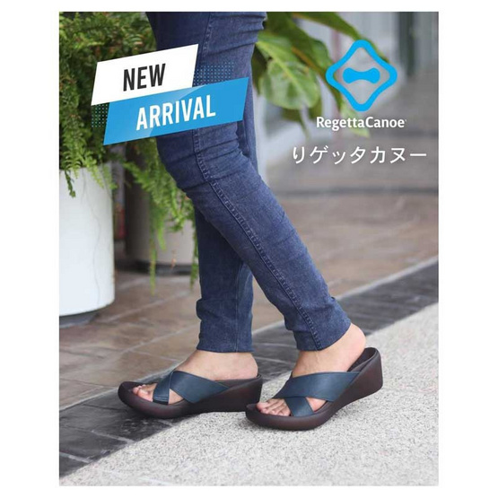 รีเก็ทต้า คานู รองเท้าสุขภาพผู้หญิง รุ่น CJLW5521 / Navy