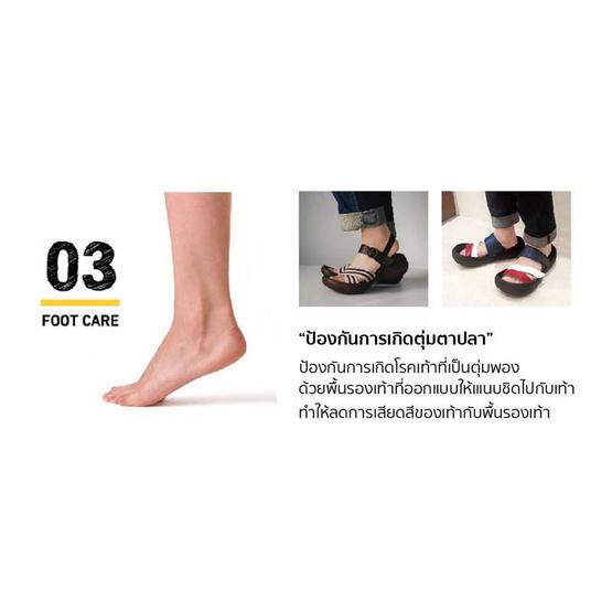 รีเก็ทต้า คานู รองเท้าสุขภาพ รุ่น CJFD5326 / Camel