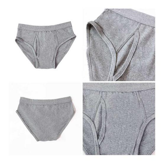 Tepp Simply กางเกงในเปิดเป้า เทา