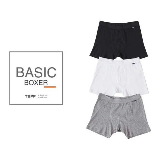 Tepp Simply กางเกงบ็อกเซอร์ ขาว