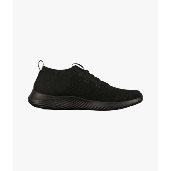 Warrix รองเท้าวิ่ง Pure white & Pure black WF-203RNACL01-AA
