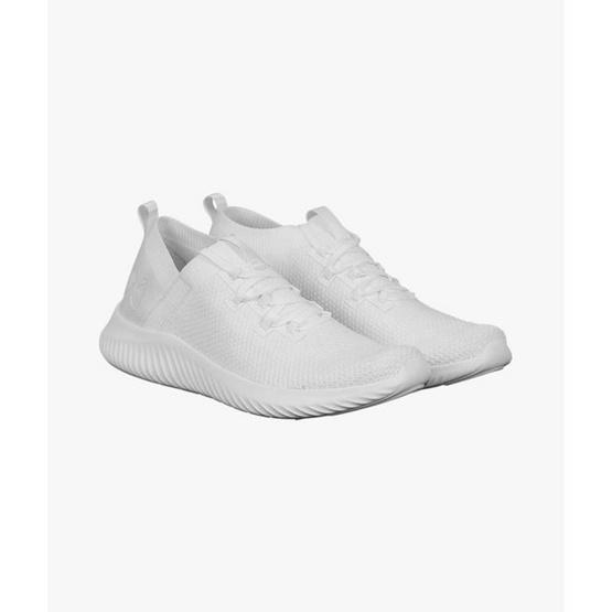 Warrix รองเท้าวิ่ง Pure white & Pure black WF-203RNACL01-WW