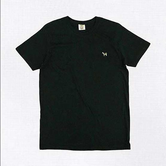 Barbari เสื้อยืดคอกลม Premium Cotton 100% ใส่ได้ทั้งผู้หญิง/ผู้ชาย สีดำ