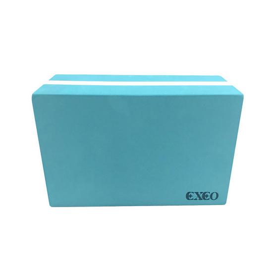 EXEO บล็อคโยคะ 2 Tone หนา 10 ซม.