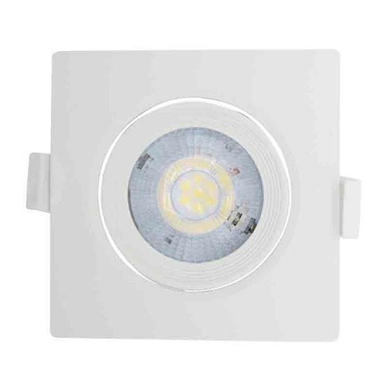 TOSHIBA  สปอตไลท์ LED 7W วอร์มไวท์ เหลี่ยม