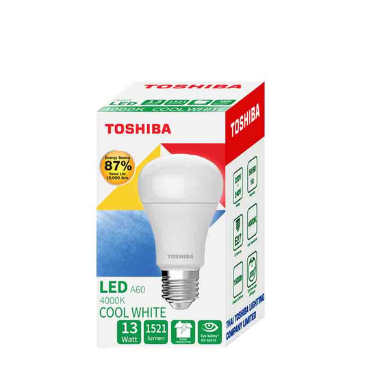 TOSHIBA  หลอด LED Bulb G7 13W คูลไวท์ E27