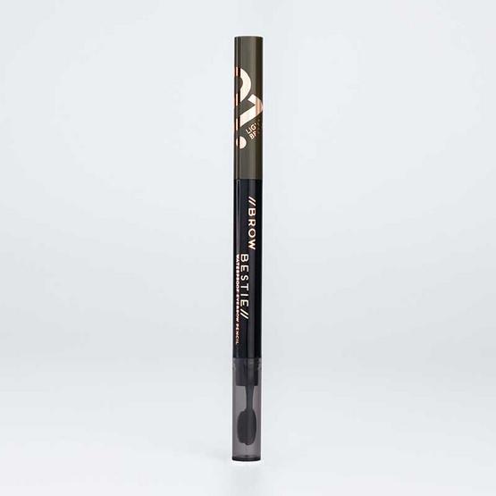 FIIT Cosmetics ดินสอเขียนคิ้ว Brow Bestie Waterproof eyebrow pencil #01 Light brown (2แถม1)