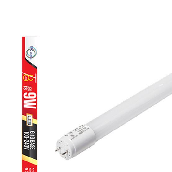 TFC หลอด TUBE T8 9W ขั้ว G13 แสงเดย์ไลท์ - ขาว