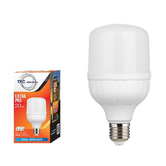 TFC หลอด LED เอ็กตร้าโปร 20 วัตต์ ขั้ว E27 แสงเดย์ไลท์ - ขาว