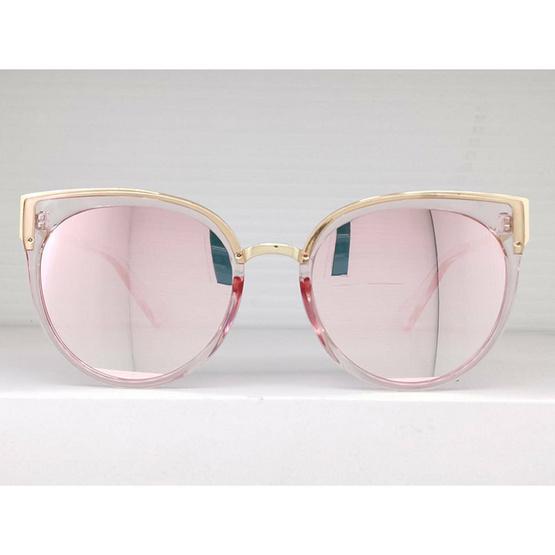 Signature แว่นตากันแดดแฟชั่น PK สีชมพู