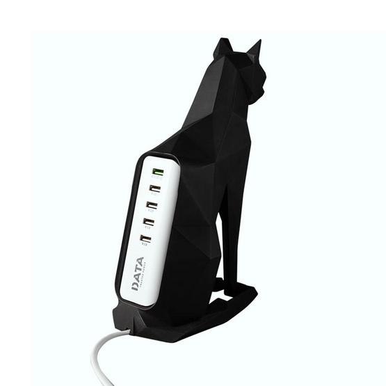 DATA แมวปลั๊กไฟUSBอุปกรณ์ชาร์ท