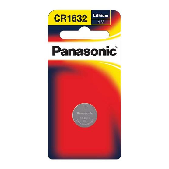 PANASONIC ถ่านเม็ดกระดุม CR-1632PT
