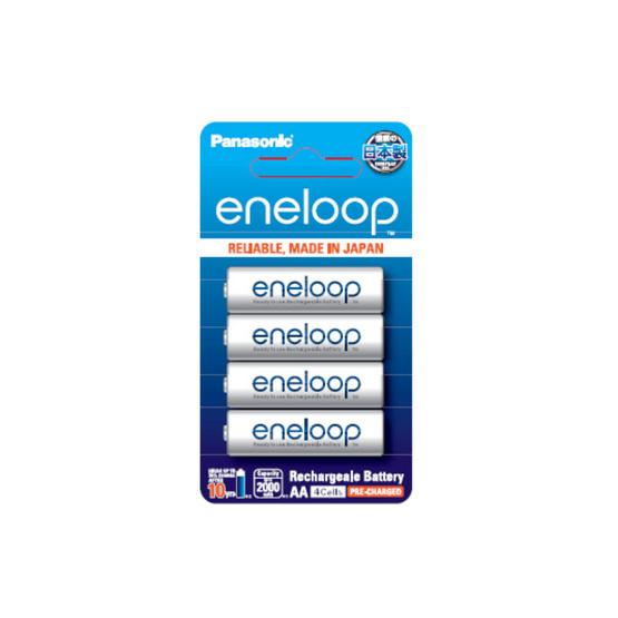 PANASONIC ถ่านชาร์จ Eneloop AA 2000 mAh (แพ็ก4ก้อน)