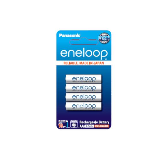 PANASONIC ถ่านชาร์จ Eneloop AAA 4ก้อน 800 mAh (แพ็ก4ก้อน)