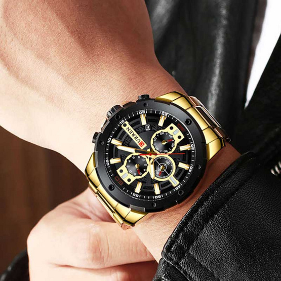 CURREN นาฬิกาข้อมือ รุ่น C8336-GO