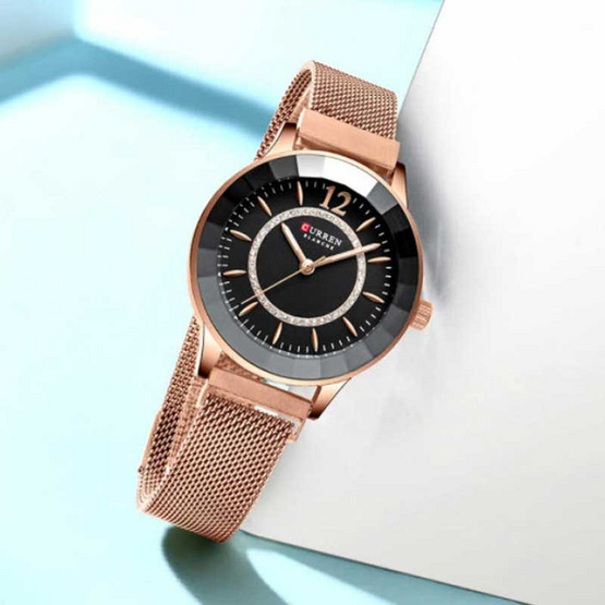 CURREN นาฬิกาข้อมือ รุ่น C9066-RG/BK