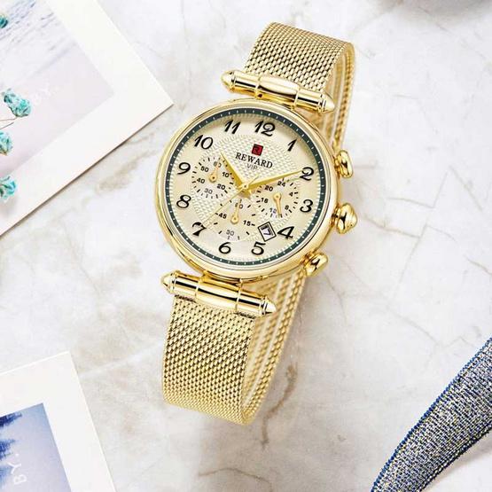 REWARD นาฬิกาข้อมือ รุ่น RD63069-GO