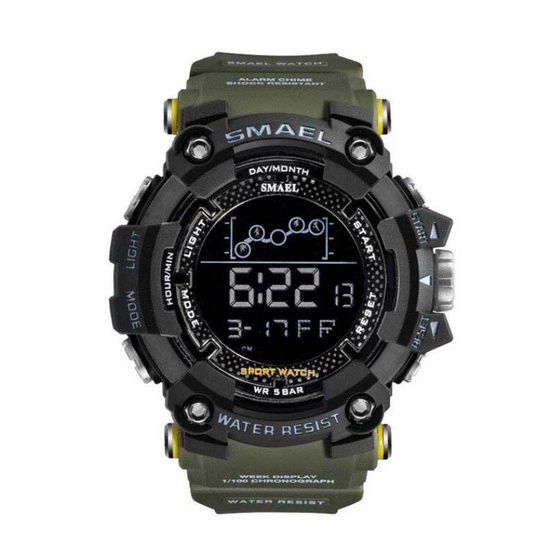 SMAEL นาฬิกาข้อมือ รุ่น SM1802-GR