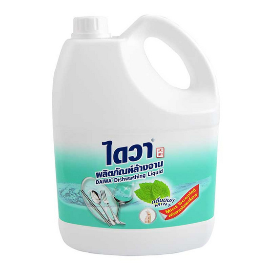 ไดวา น้ำยาล้างจานกลิ่นมิ้นท์ 3800 มล.