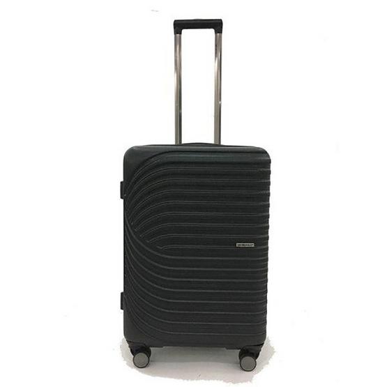 BP WORLD กระเป๋าเดินทาง รุ่น18812 ขนาด25 สีดำ