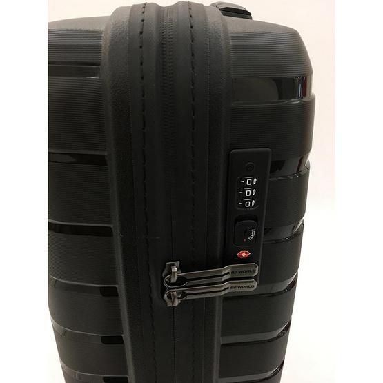 BP WORLD กระเป๋าเดินทาง รุ่น 8505 ขนาด20นิ้ว สีดำ