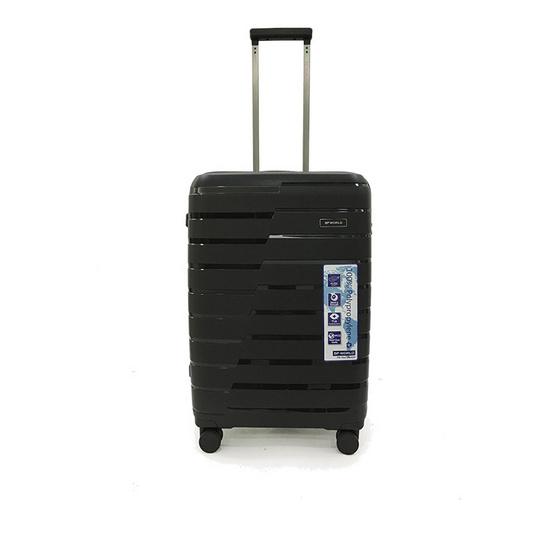 BP WORLD กระเป๋าเดินทาง รุ่น 8505 ขนาด25นิ้ว สีดำ