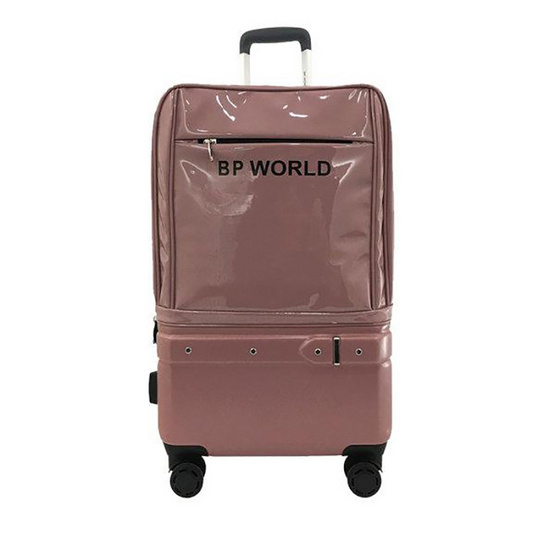 BP WORLD กระเป๋าเดินทาง รุ่น Seductive 2172 ขนาด24 สีชมพู
