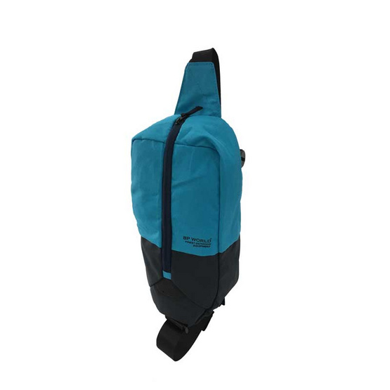 BP WORLD กระเป๋าคาดอก รุ่น B022 สีฟ้า