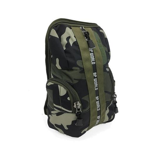 BP WORLD กระเป๋าคาดอก CAMO Collection รุ่น C6421สีเขียวลายทหาร