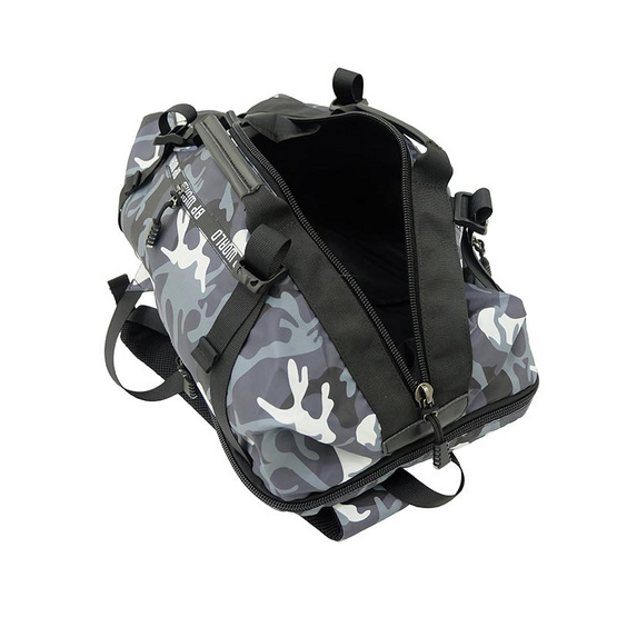 BP WORLD กระเป๋าเป้ CAMO Collection รุ่น P6420-GS สีเทาทหาร