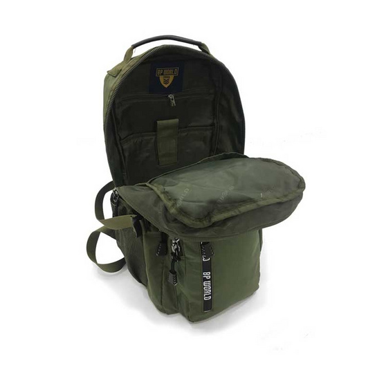BP WORLD กระเป๋าเป้ CAMO Collection รุ่น P6418- GR สีเขียว
