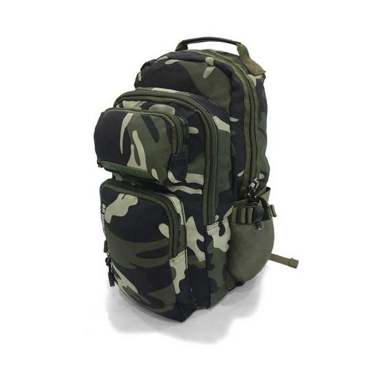 BP WORLD กระเป๋าเป้ CAMO Collection รุ่น P6418- GS สีเขียวทหาร