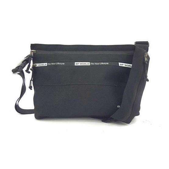 BP WORLD กระเป๋าสะพาย B6005 สีดำ