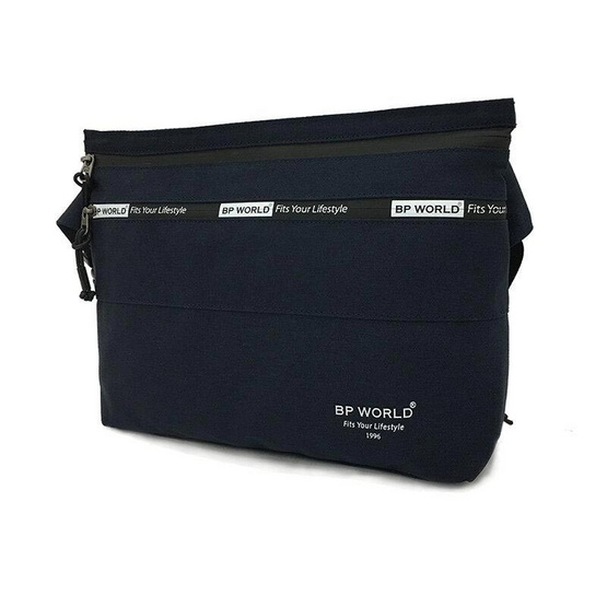 BP WORLD กระเป๋าสะพาย B6005 สีน้ำเงิน