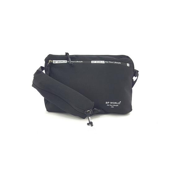 BP WORLD กระเป๋าสะพาย B6004 สีดำ