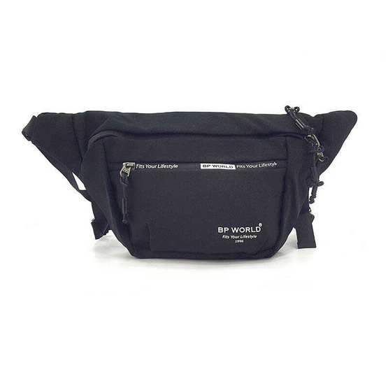 BP WORLD กระเป๋าคาดเอว รุ่น C6001 สีดำ