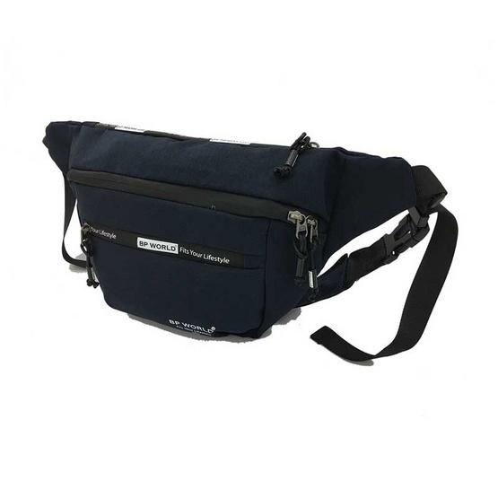 BP WORLD กระเป๋าคาดเอว รุ่น C6001 สีน้ำเงิน