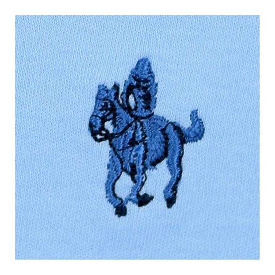 GALLOP INTERLOCK POLO SHIRTS เสื้อโปโล สีฟ้า