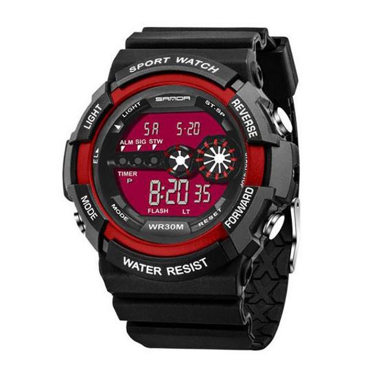 SANDA นาฬิกาข้อมือรุ่น SW320-BK/RE