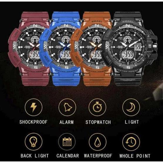 SMAEL นาฬิกาข้อมือรุ่น SM1376-BB