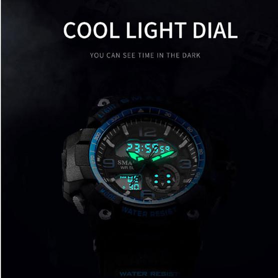 SMAEL นาฬิกาข้อมือรุ่น SM1808-BK/BL