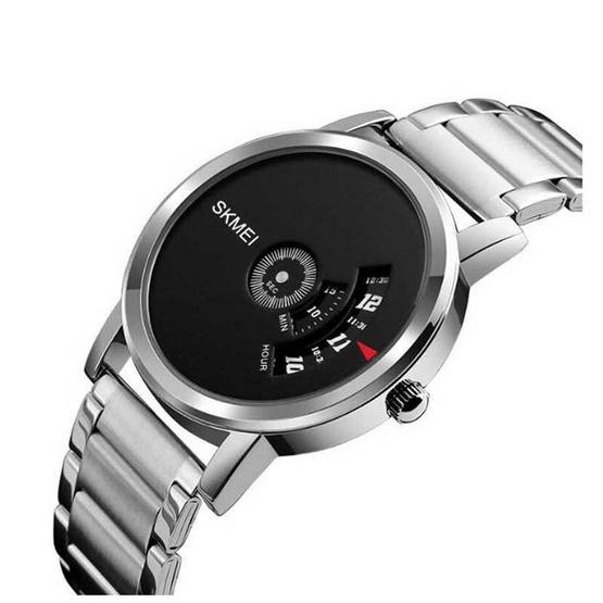 SKMEI นาฬิกาข้อมือ รุ่น SK1260-SI/BK
